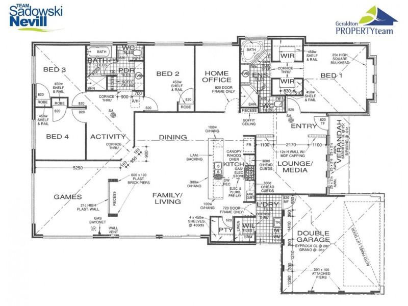8 Topsail Street, Drummond Cove WA 6532 Floorplan
