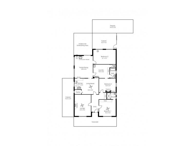 38 Spoehr Road, Balhannah SA 5242 Floorplan