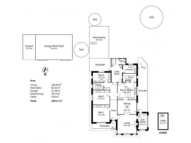 70 Wenzel Road, Balhannah SA 5242 Floorplan
