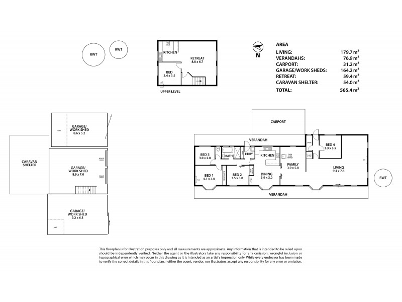 25 Chapel Hill Road, Ashbourne SA 5157 Floorplan