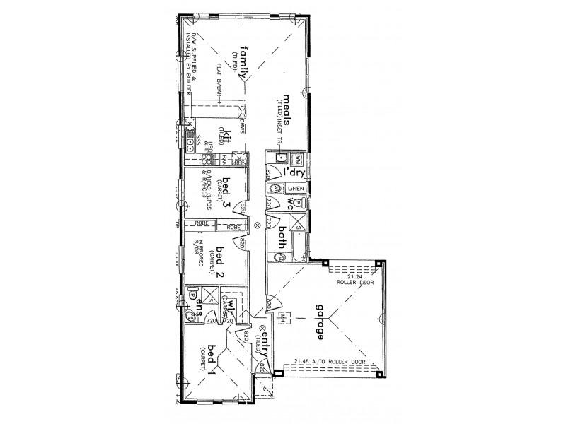 9a Walsh Avenue, Strathalbyn SA 5255 Floorplan