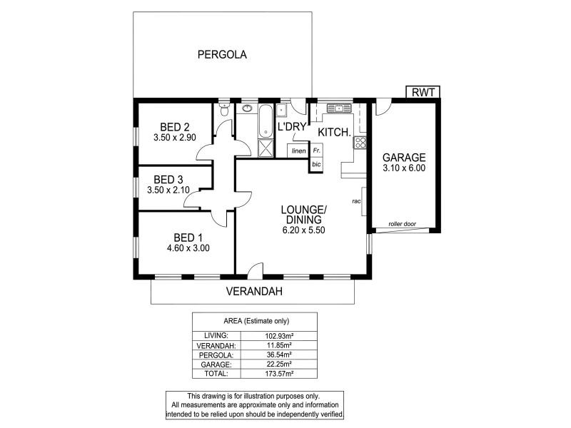 1 / 12 Commercial Road, Strathalbyn SA 5255 Floorplan