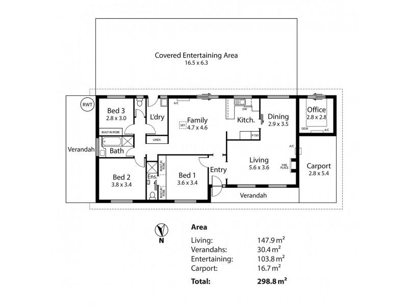 Lot 1 Matrice Court, Strathalbyn SA 5255 Floorplan