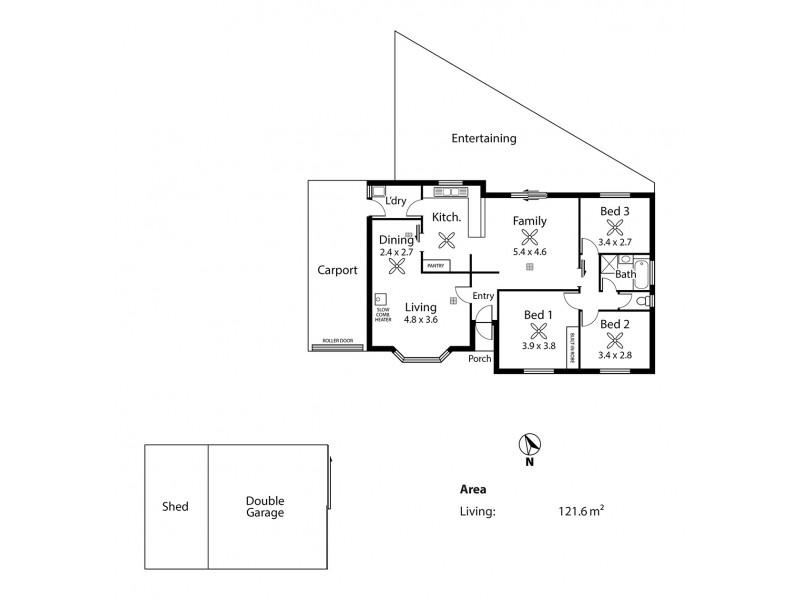 12 Kerslake Court, Strathalbyn SA 5255 Floorplan