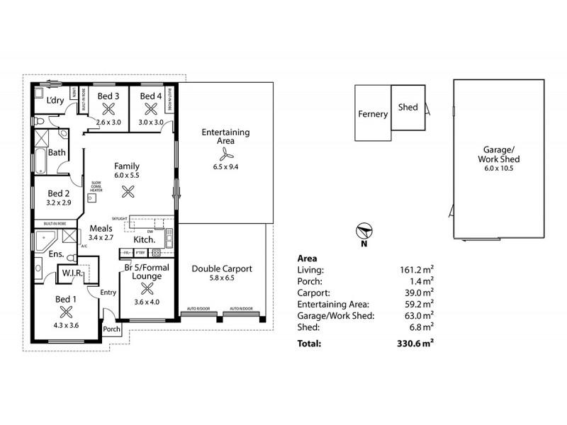 10 Montrose Avenue, Strathalbyn SA 5255 Floorplan