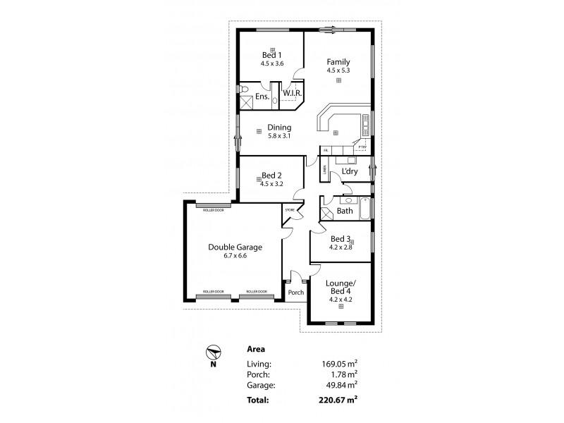 2B Walsh Avenue, Strathalbyn SA 5255 Floorplan