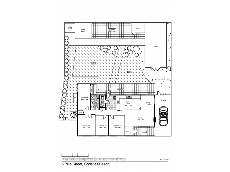 5 Pike Street, Christies Beach SA 5165 Floorplan