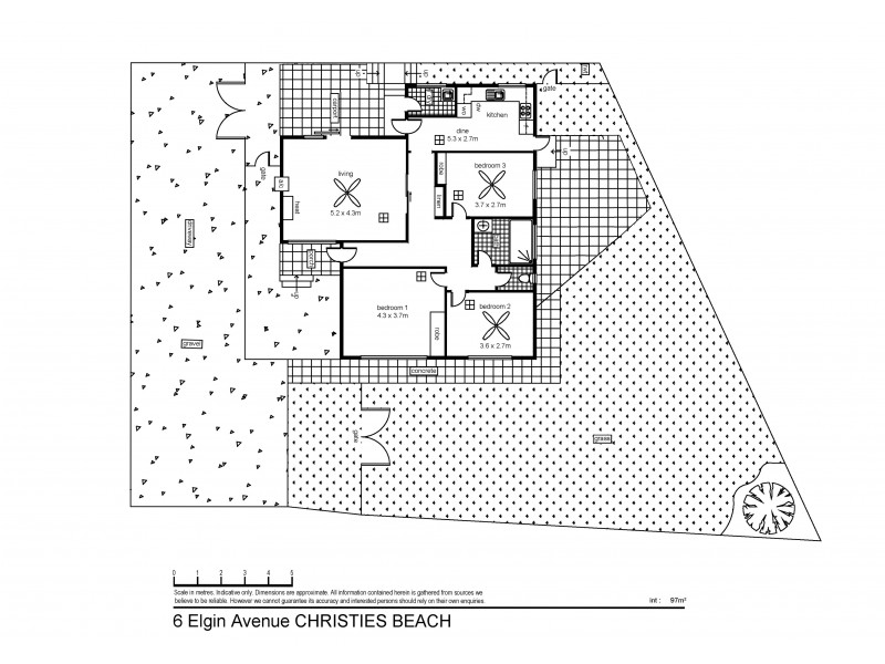 6 Elgin Avenue, Christies Beach SA 5165 Floorplan