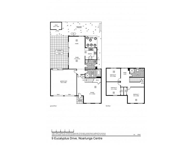 9 Eucalyptus Avenue, Noarlunga Downs SA 5168 Floorplan