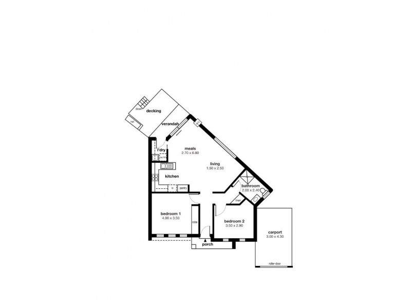 2A Oldfield Avenue, Christies Beach SA 5165 Floorplan