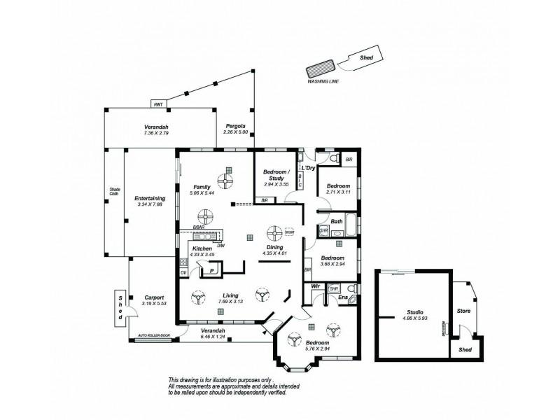 29 Kulkyne Way, Port Noarlunga SA 5167 Floorplan