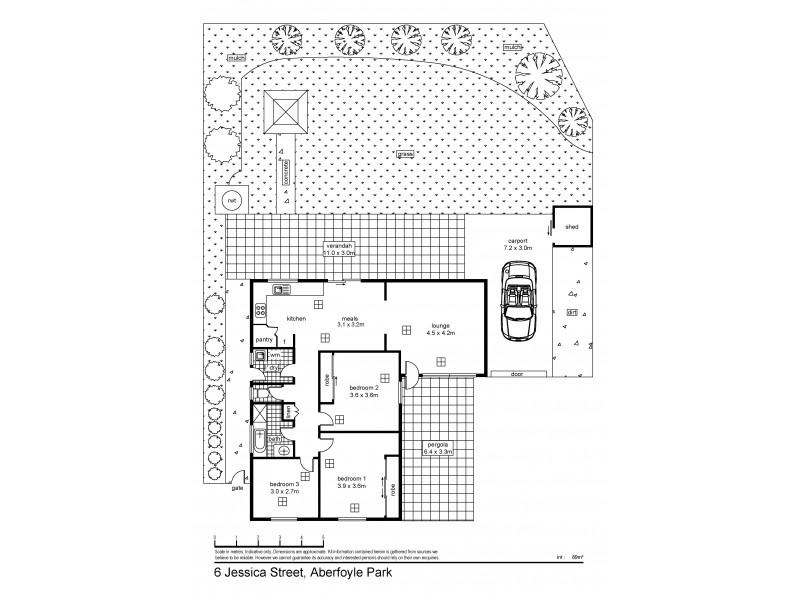 6 Jessica Street, Aberfoyle Park SA 5159 Floorplan