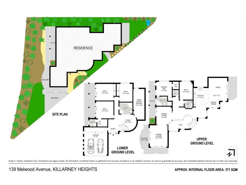 139 Melwood Avenue, Killarney Heights NSW 2087 Floorplan