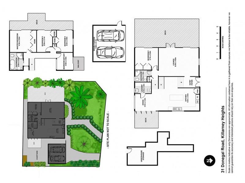 31 Donegal Road, Killarney Heights NSW 2087 Floorplan