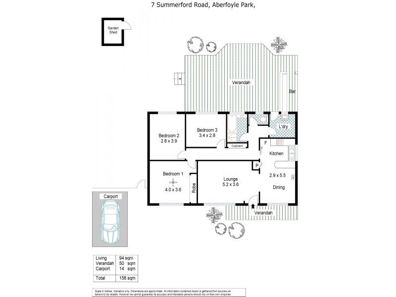7 Summerford Road, Aberfoyle Park SA 5159 Floorplan