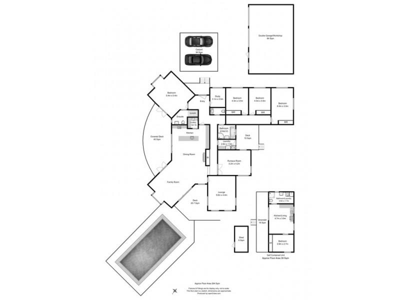 151 Saxon Drive, Acton Park TAS 7170 Floorplan
