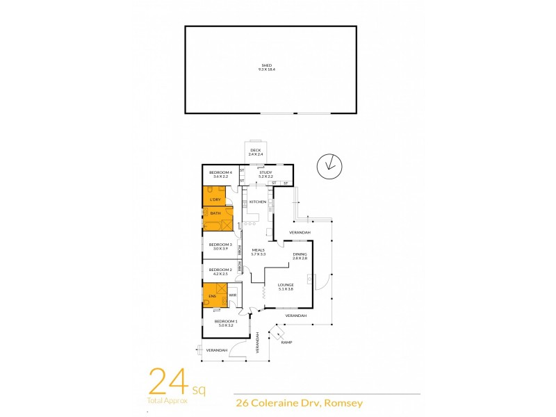 26 Coleraine Drive, Romsey VIC 3434