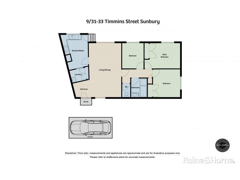 9/31-33 Timins Street, Sunbury VIC 3429 Floorplan