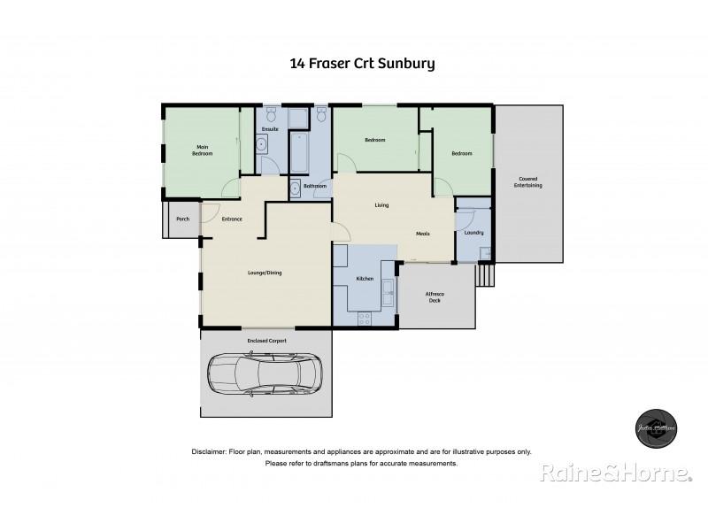 14 Fraser Court, Sunbury VIC 3429 Floorplan