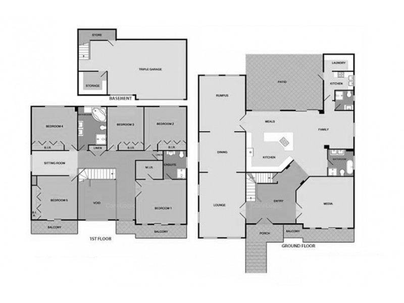 3 Toulouse Street, Cecil Hills NSW 2171 Floorplan