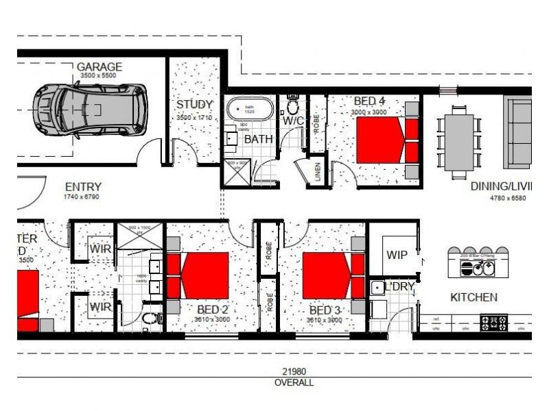 Austral NSW 2179 Floorplan