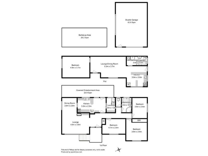 21 Easton Avenue, West Moonah TAS 7009 Floorplan