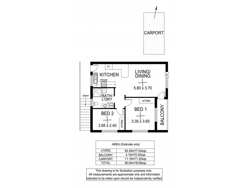 4/20 Wheaton Road, Plympton SA 5038 Floorplan