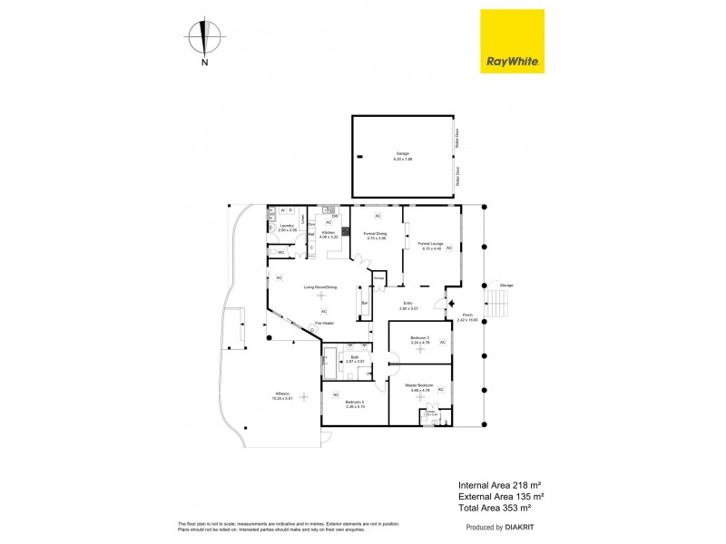 20 Wandana Avenue, Seaview Downs SA 5049 Floorplan
