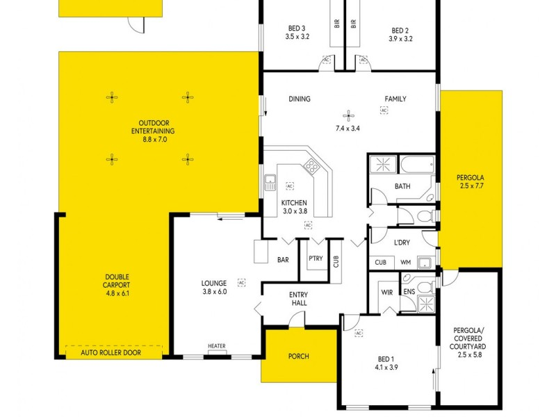 40 Parsons Street, Marion SA 5043 Floorplan