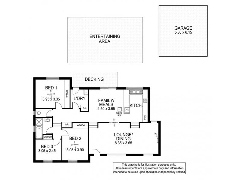 44 Robbie Drive, Reynella East SA 5161 Floorplan