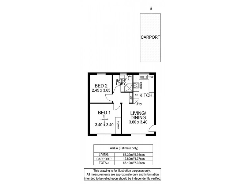 6/26 Clifton Street, Camden Park SA 5038 Floorplan