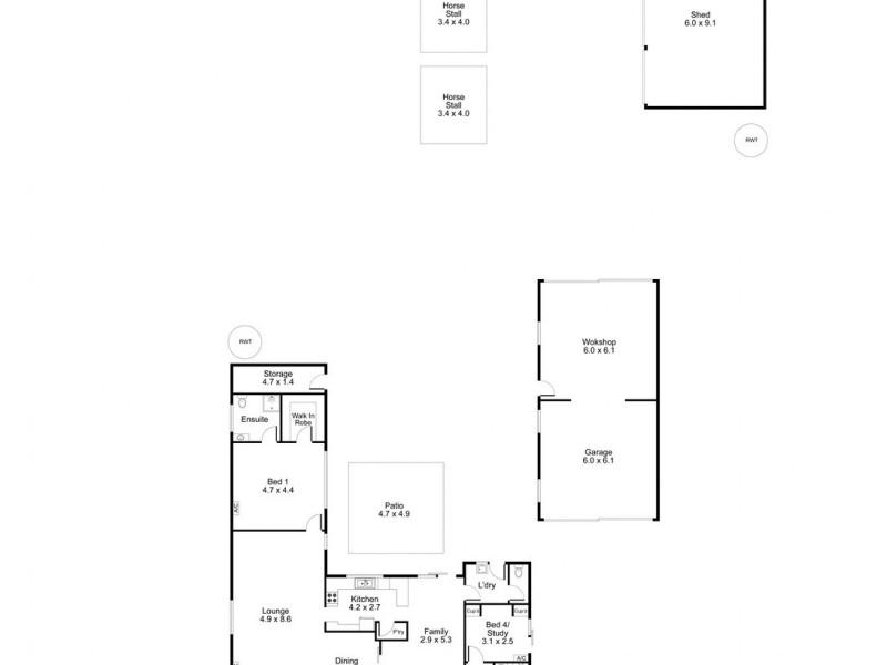 907 Stockwell Road, Angaston SA 5353 Floorplan