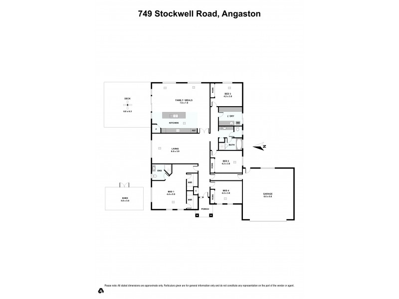 749 Stockwell Road, Angaston SA 5353 Floorplan