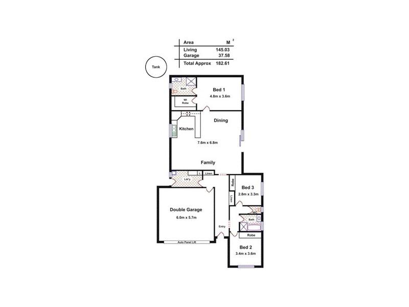 Lot 4 Mt Crawford Road, Williamstown SA 5351 Floorplan