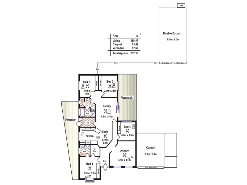 5 John Bull Court, Andrews Farm SA 5114 Floorplan