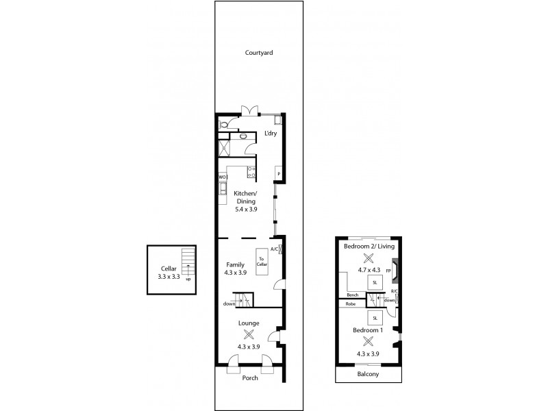 110 South Terrace, Adelaide SA 5000 Floorplan