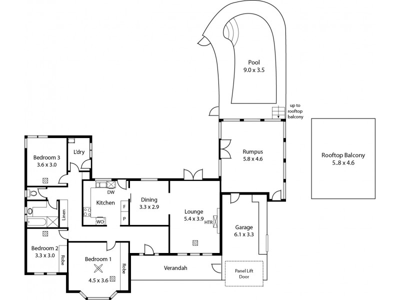 20 Mawson Crescent, Lockleys SA 5032 Floorplan