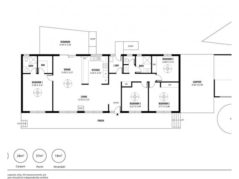4 Wirrinilla Drive, Macclesfield SA 5153 Floorplan