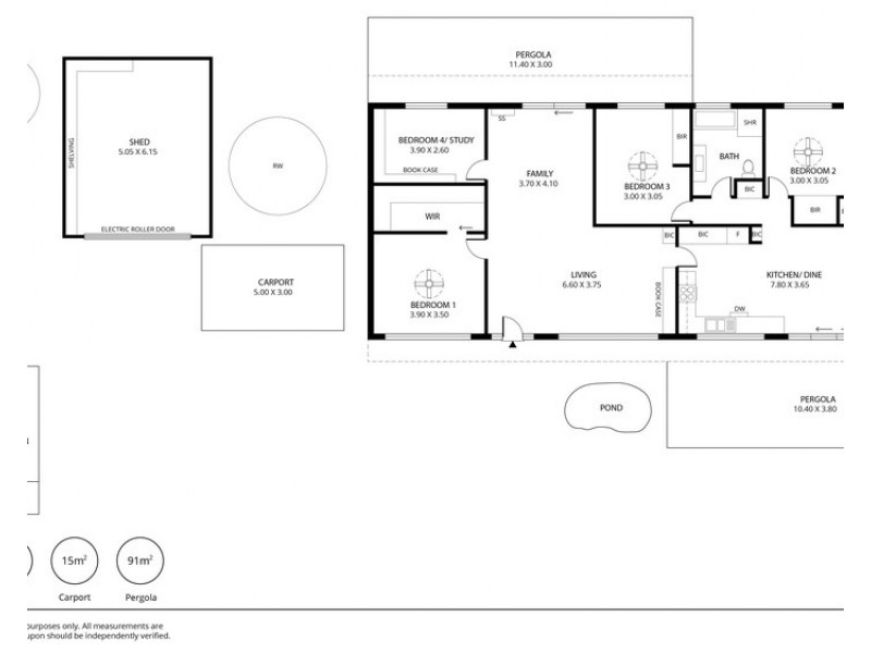 14 Melville Street, Strathalbyn SA 5255 Floorplan
