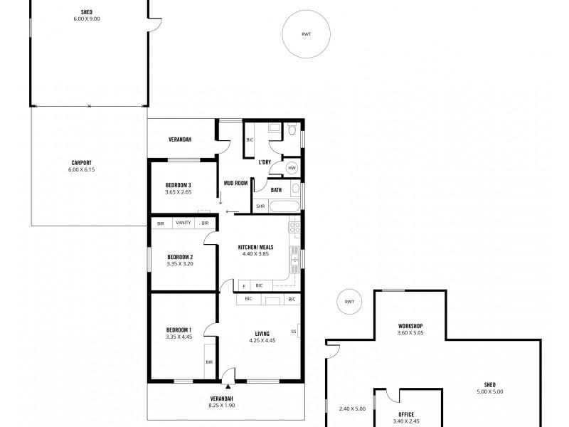 14-16 Bulkeley Street, Milang SA 5256 Floorplan