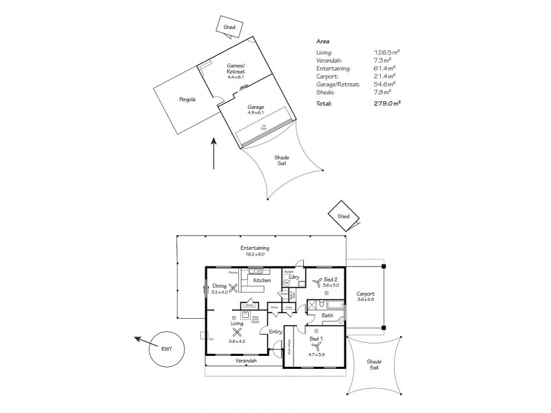 53 The Esplanade, Mannum SA 5238 Floorplan