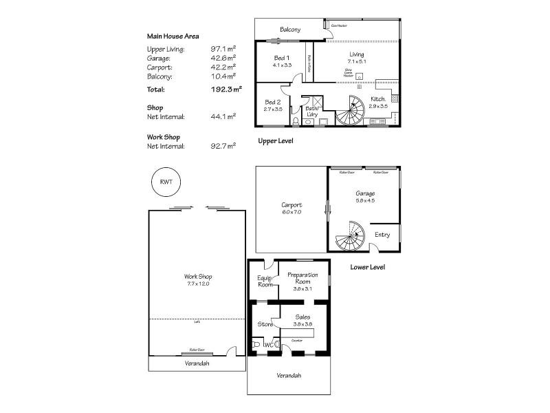 30 Randell Street, Mannum SA 5238 Floorplan