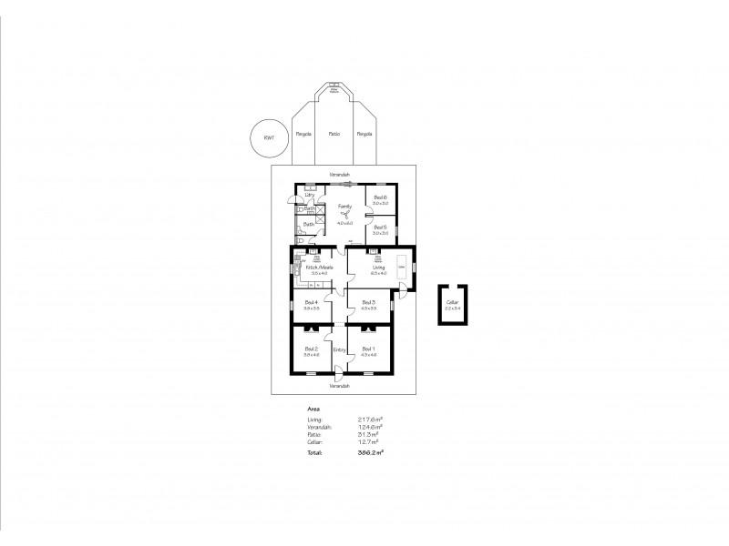 25 North Parade, Strathalbyn SA 5255 Floorplan