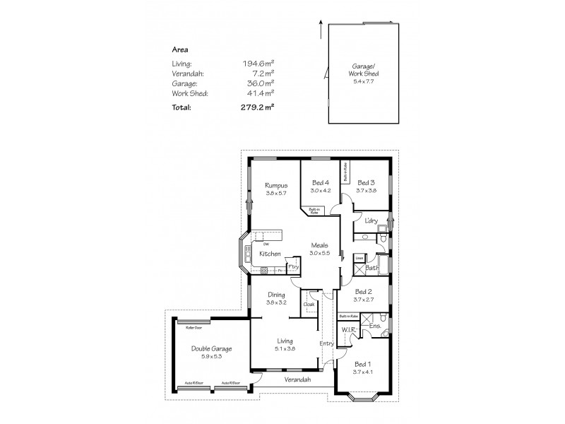 36 O'Donnell Drive, Littlehampton SA 5250 Floorplan