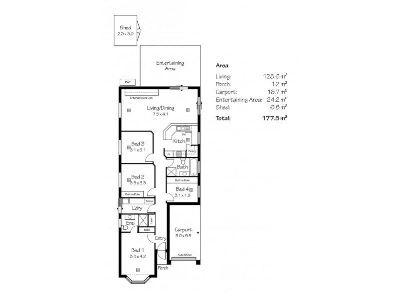 5 Gamlin Court, Littlehampton SA 5250 Floorplan