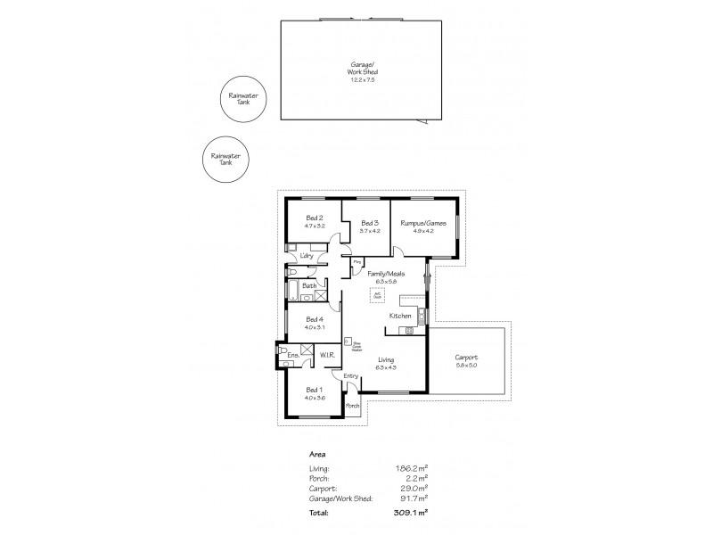 Lot 220 George Mason Street, Wellington East SA 5259 Floorplan