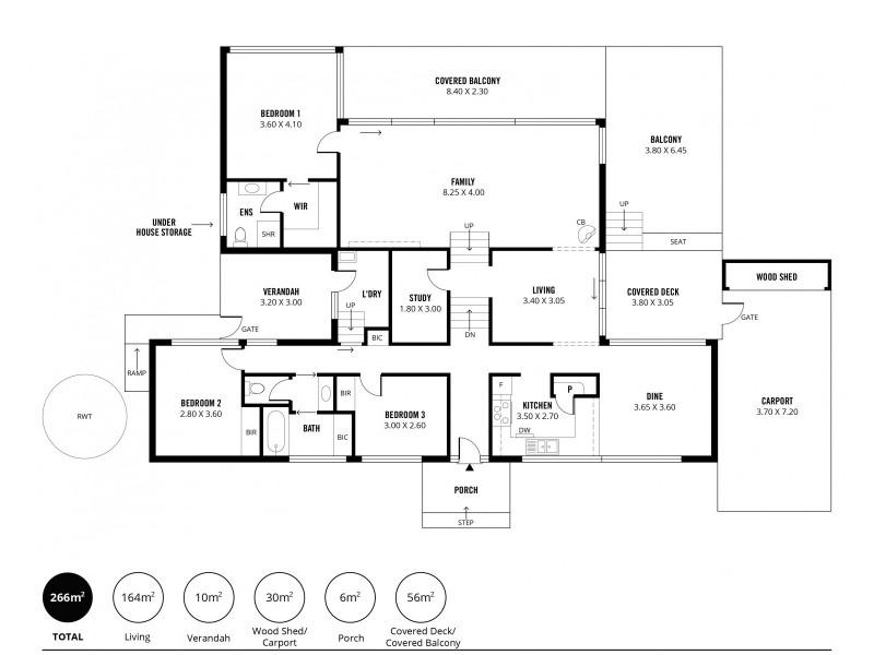 16 Elmstead Drive, Upper Sturt SA 5156 Floorplan