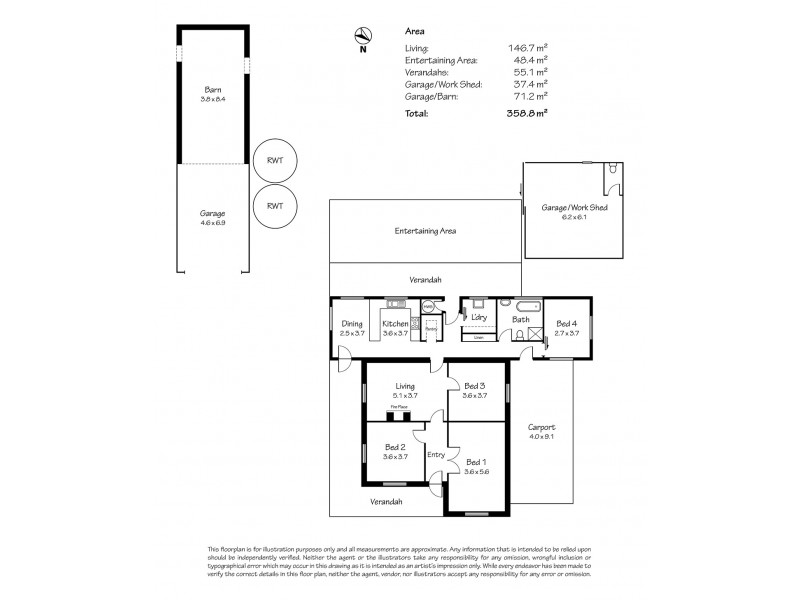 20 Watson Street, Milang SA 5256 Floorplan