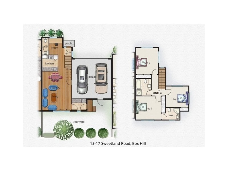 8/15-17 Sweetland Road, Box Hill VIC 3128 Floorplan