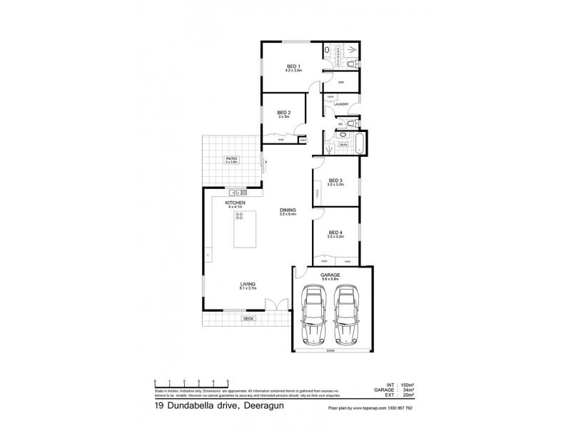 19 Dundabella Dr, Deeragun QLD 4818 Floorplan